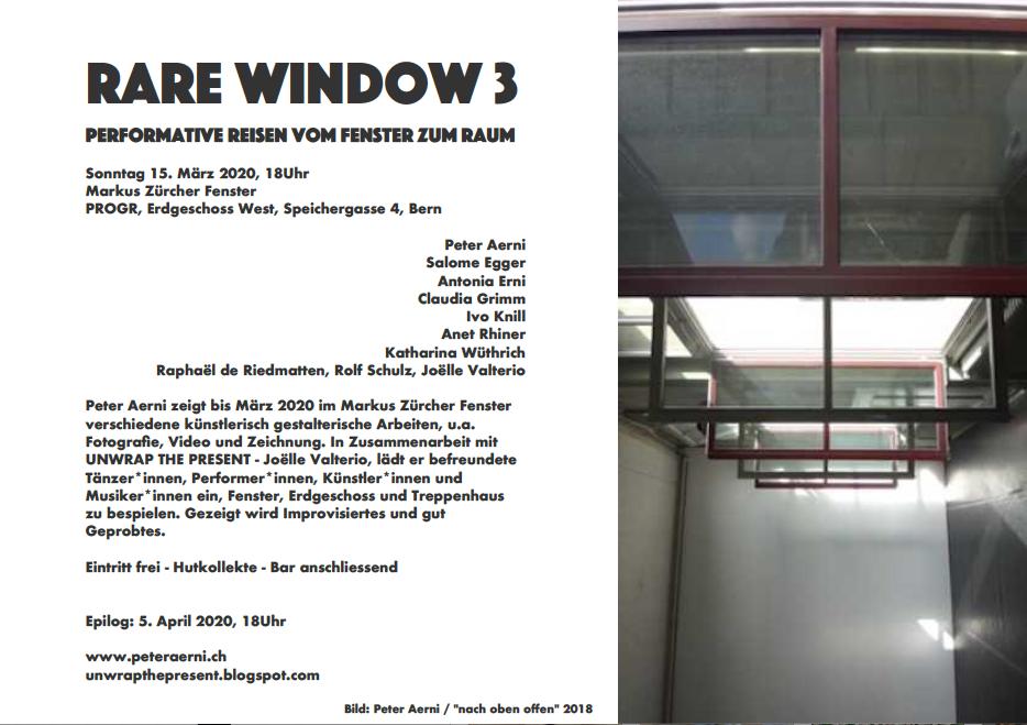 Performance Rare Window